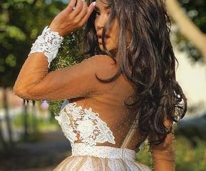 dress, prom dress, and sweet 16 image