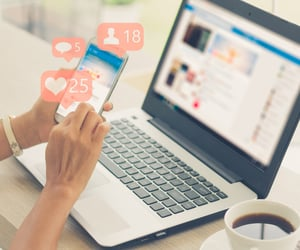 marketing, social media, and marketing agency image