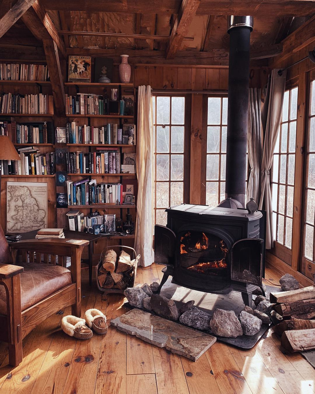 book, autumn, and home image