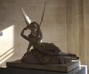 aesthetic, paris, and statue image