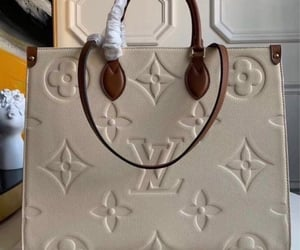 handbag and Louis Vuitton image