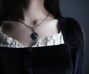 black hair, gothic, and handmade image