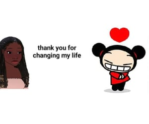 2000s, black girl, and heartcore image