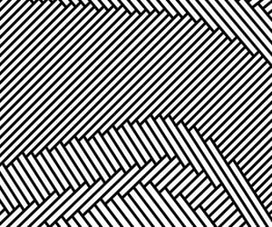 black and white, designs, and geometric image