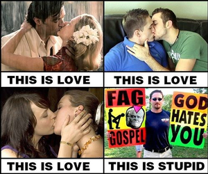 kiss, this is love, and lesbian image