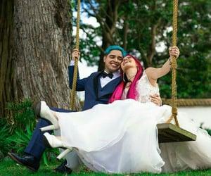 bride, groom, and relationship goals image