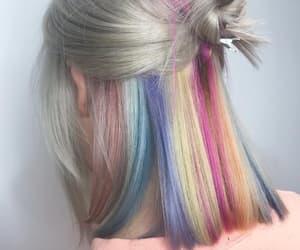 gray hair, hair, and haircolor image