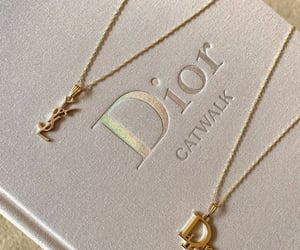book, dior, and gold image