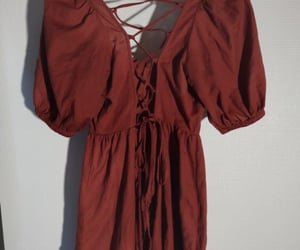 red dress, rouge, and asos image