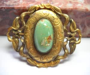 etsy, jewelry brooch, and c clasp brooch image