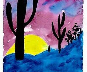 original art, handmade watercolor, and handmade art image
