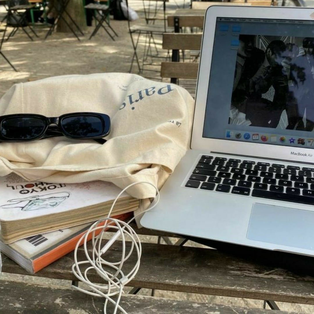 book, aesthetic, and cafe image