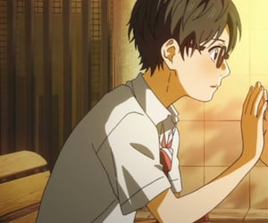 anime, your lie in april, and anime boy image