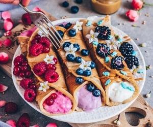 crepes, dessert, and yumii image