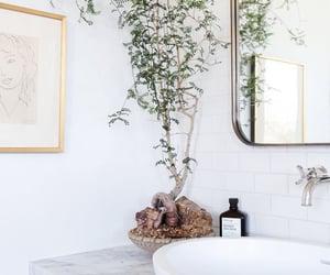 bathroom, black, and Blanc image