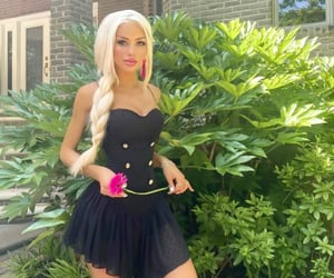 barbie, beauty, and blonde image