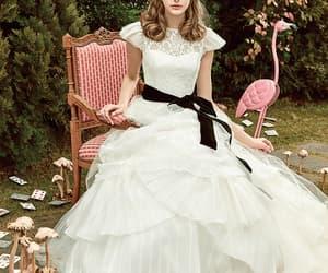 alice, dress, and trump image