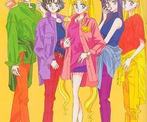 90s, anime, and makeup image