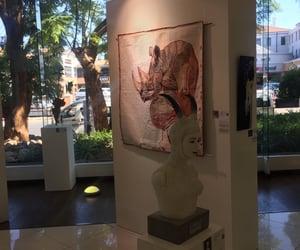 art, art gallery, and art sculpture image