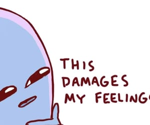meme, comic, and damage image