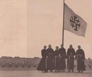1950s, monastery, and monks image