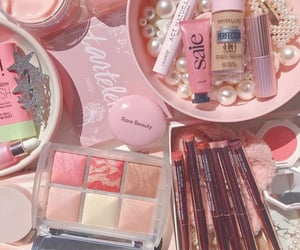 hourglass, makeup, and Maybelline image