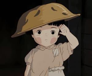 anime, setsuko, and ghibli image