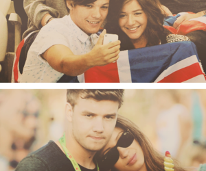 danielle, liam payne, and louis tomlinson image