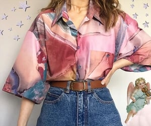 aesthetic, shirt, and belt image