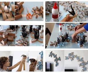 arte, creativity, and flower image
