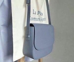 baby blue, handbag, and bag image