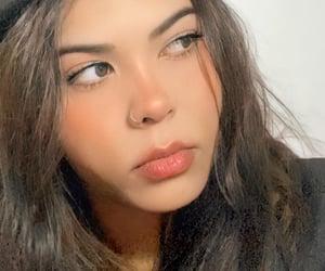aesthetic, green eyes, and brazilian girl image