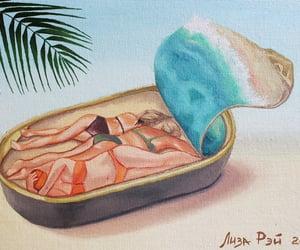 surrealism, загар, and море image