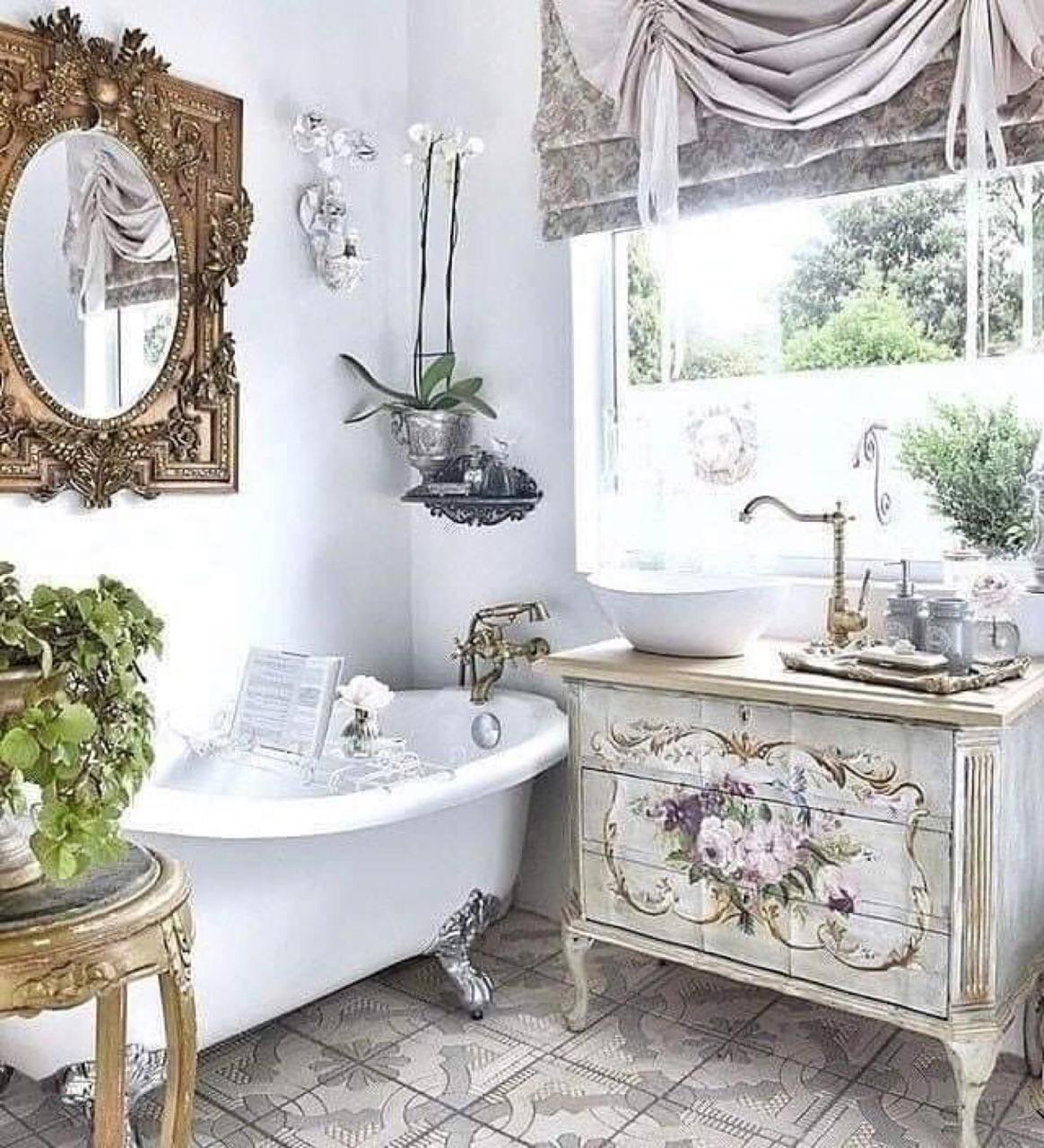 vintage, baño, and decoracion image
