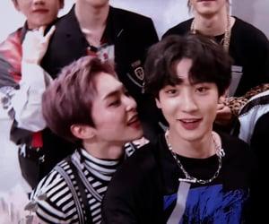 boys, chanmin, and xiumin image
