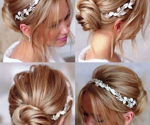 bridal hair accessories, embellished hair slides, and pearl hair clips image