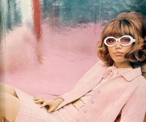 60s, pink, and retro image