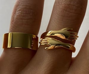 accessories, gold, and fashion image