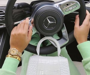 Burberry, cars, and fashion image