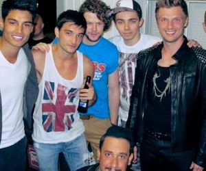 backstreet boys and the wanted image