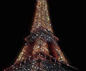 paris, travel, and glitter image