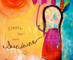 art, journaling, and mixed media image