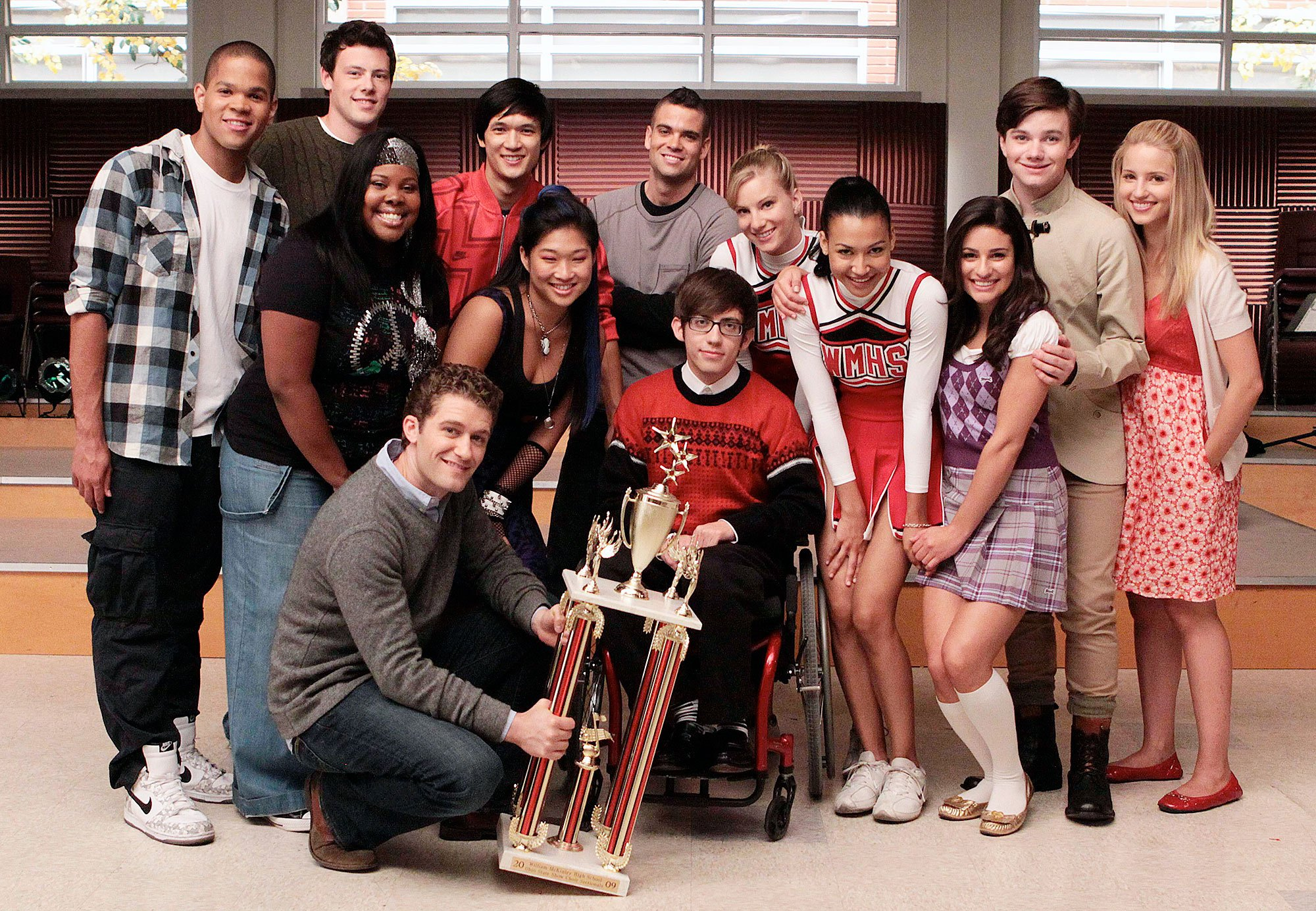 article, glee cast, and quinn fabray image