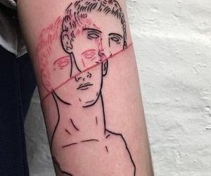 art, body art, and inked image