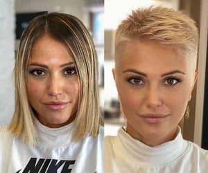 chanel, cabelo curto, and corte feminino image