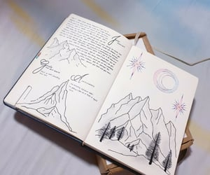 art, journalling, and bullet journal ideas image
