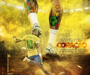 brazil, futbol, and soccer image