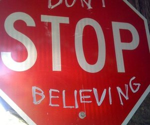 believe, stop, and hope image