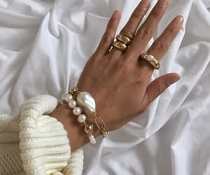 jewelry, fashion, and gold image