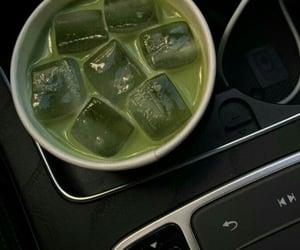 car, green tea, and moodboard image